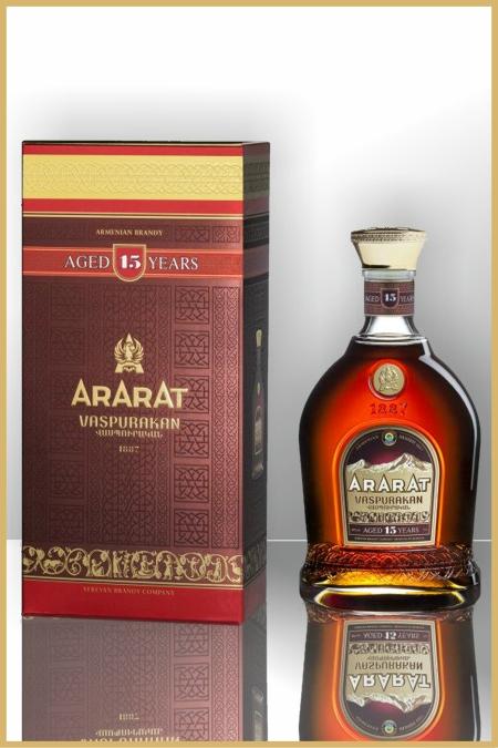 Ararat brandy 15 years vaspurakan for Ararat armenian cuisine