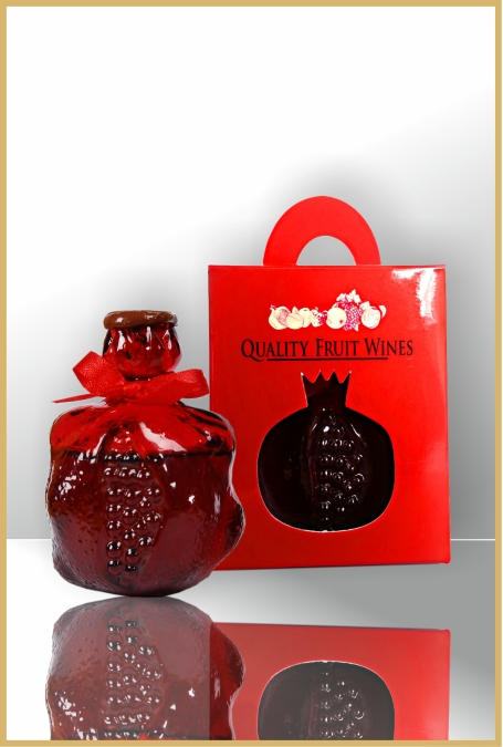 Pomegranate wine in Deco bottle 50 ml