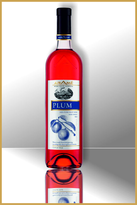 Plum Semi Sweet Wine